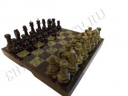 Шахматы в комплекте чемодан (38 см)