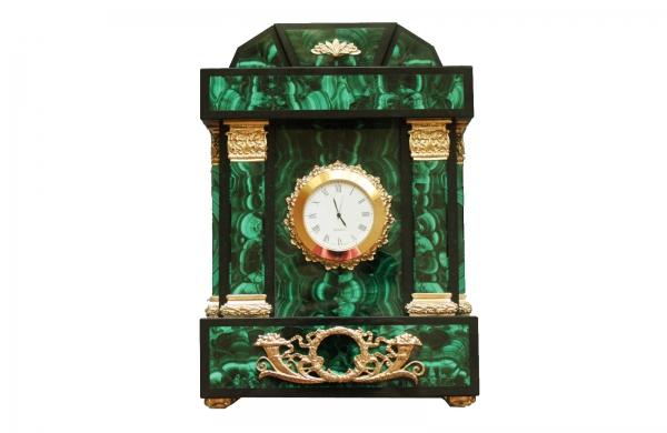 Часы Малахит