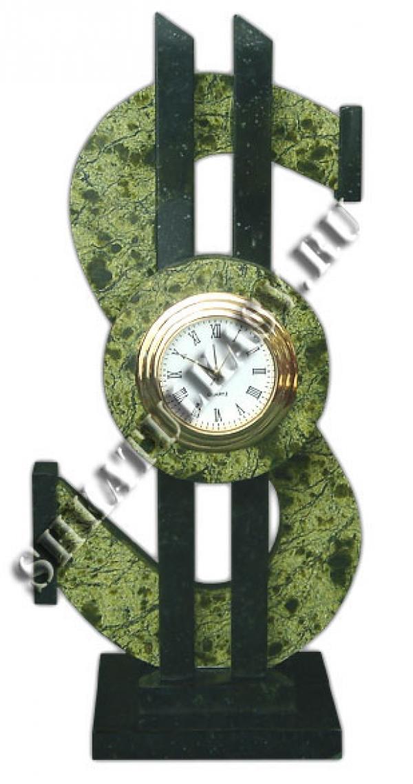 """Настольные часы """"Доллар"""""""