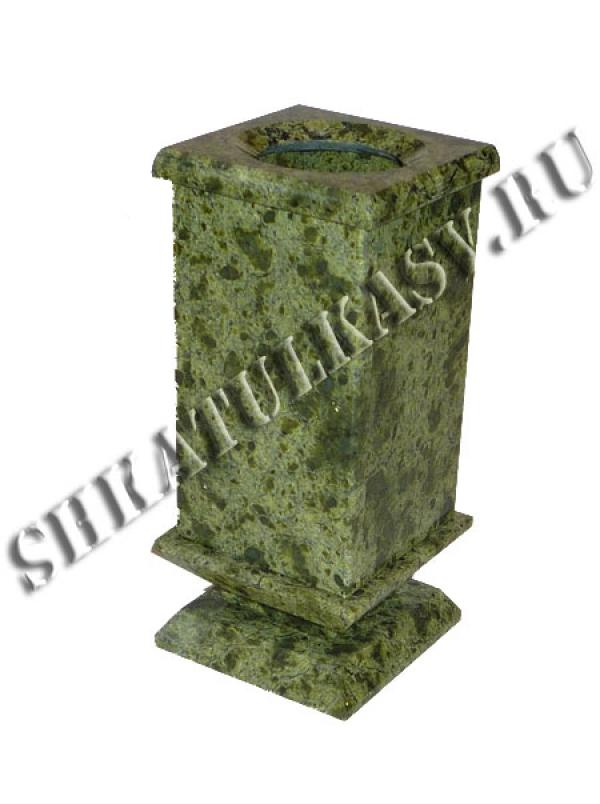 Карандашница из камня