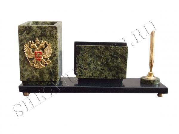 Настольный прибор с гербом