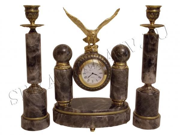 Часы Подсвечники